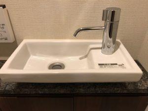 トイレの手洗いカウンター